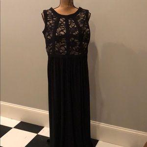 Formal long cocktail dress